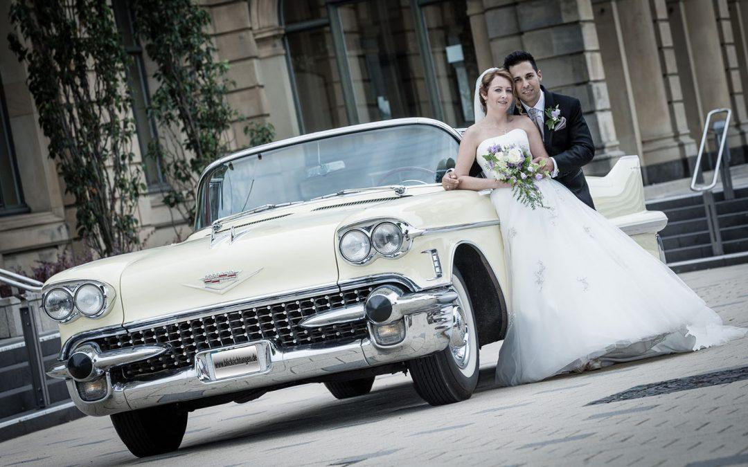 Foto-Sammlung…: Hochzeitsfuhrwerke